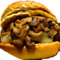 Egg & Mushroom Burger