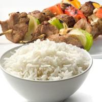 Shish Kebab with Rice