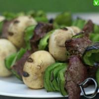 Mushroom Kebab