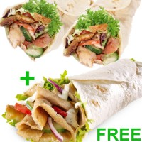 Buy any 2 Kebab Wraps and get a 3rd Free (Regular Doner Wrap)