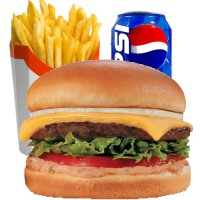 Cheese Burger Meal