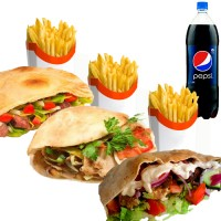 Kens Kebab Meal Deal