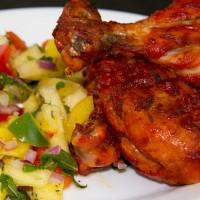 Chicken & Pineapple Tandoori Mini Kebabs