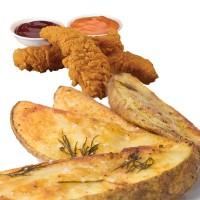 Chicken Wedges Combo