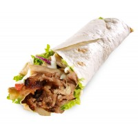 Mixed Doner Wrap
